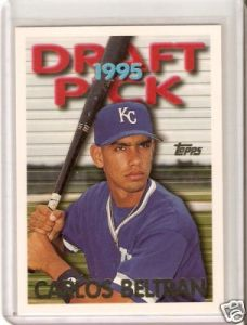 ... Collection (Baseball Edition) – 1995 CARLOS BELTRAN « Bad Wax